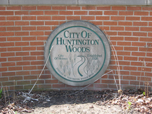 Huntington Woods Michigan is called 'The City of Homes'